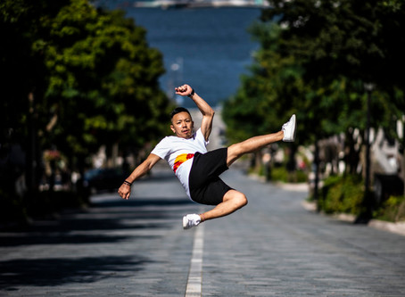 B-Boy Taisuke Electrifies Hakodate's Sleepy Streets, Enthralls Tourists