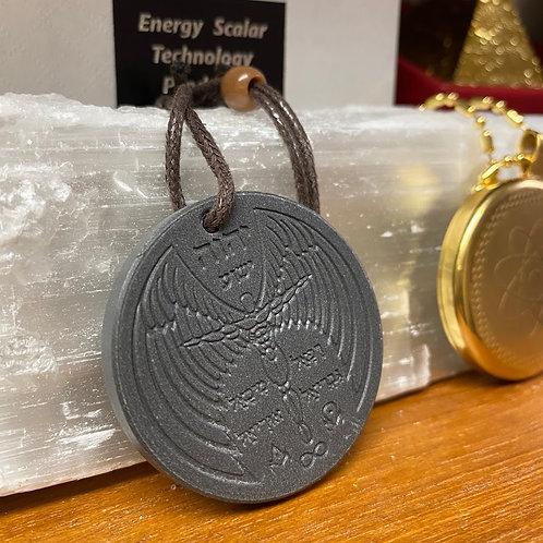 Fly-man Decorative Natural Lava Negative Ion Producing Pendant