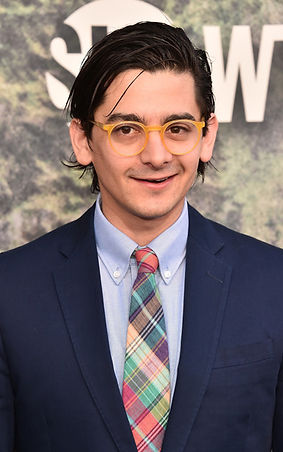 Josh Fadem on the red carpet at the season premiere of 'Twin Peaks'