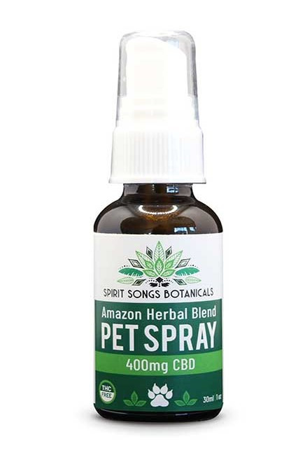 Pet Spray - Amazon Herbal Blend with 400mg CBD