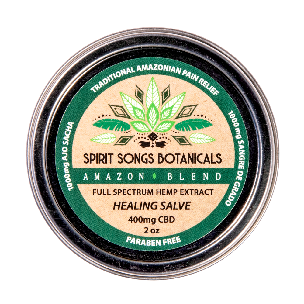 Healing Salve - Amazon Herbal Blend with 400mg CBD