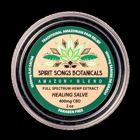 Healing Salve - Amazon Herbal Blend with 400mg CBD