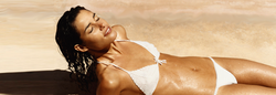 Woman Spray Tanning Far Hills