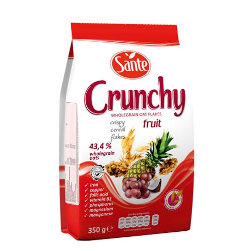 Sante CRUNCHY Fruit 350G