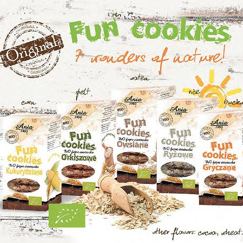 Bio Fun Cookies 120g