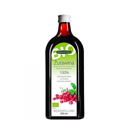 Organic Cranberry Cold Pressed Juice