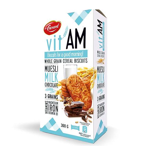 Dr Gerard vit'AM Biscuit / Musli+Milk+Chocolate