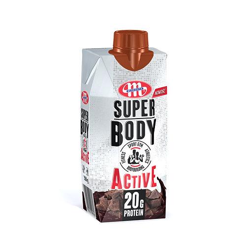 Super Body Active Protein Milk+Chocolate Drink