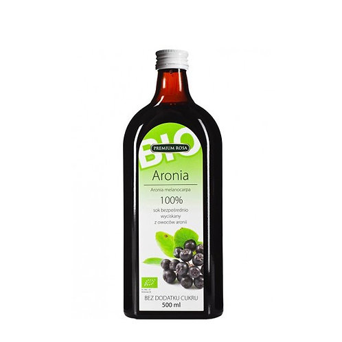 Organic Chokeberry Cold Pressed Juice