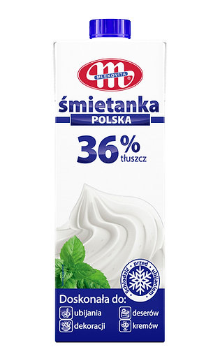 UHT / LONGLIFE Whipping Cream 36% FAT 0.5 / 1L