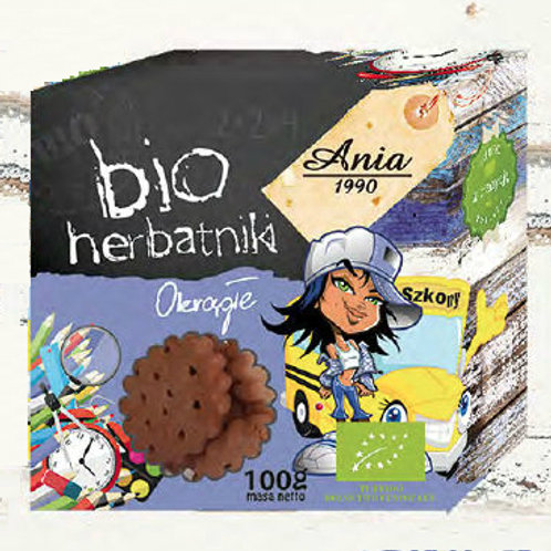 Bio Biscuits (Rectangular and Round) 100g