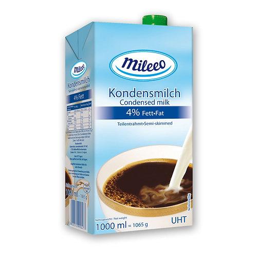 Mileeo UHT / LONGLIFE CONDENCED Milk 4% Fat / 1L