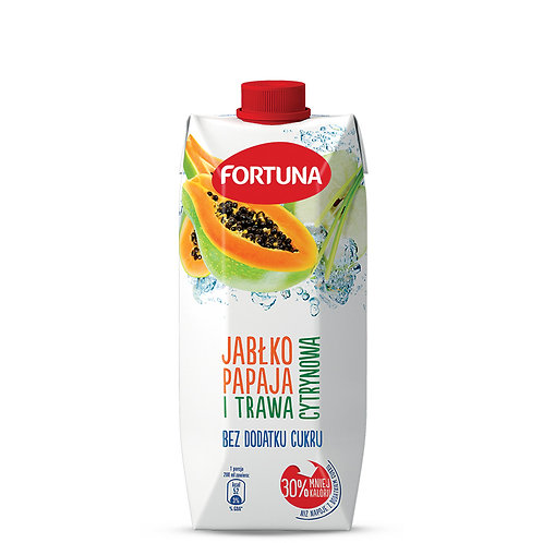 FORTUNA Appla Papaya Lemon Grass Drink