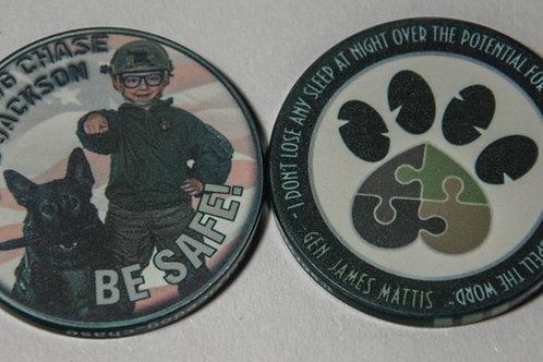 War Dog Challenge Coin