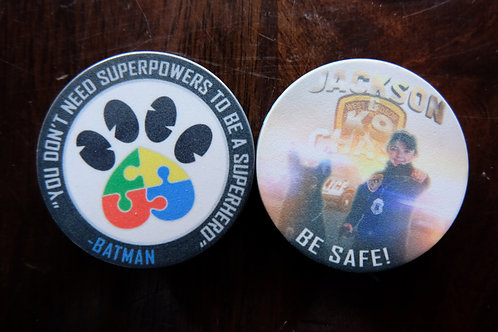 Service Dog Chase Challenge Coin