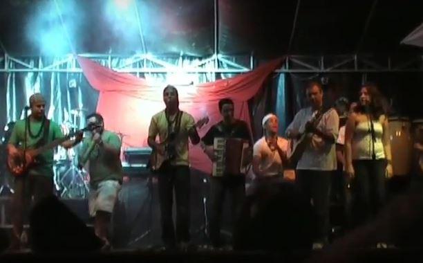 Gravaçao DVD _ Banda Caiçara _ Alegre.