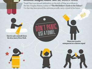 Happy Towel Day, Douglas Adams fans!