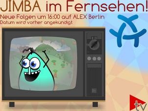 Es ist jetzt offiziell! Die neuen Folgen von Jimba werden auf ALEX TV Berlin ausgestrahlt.