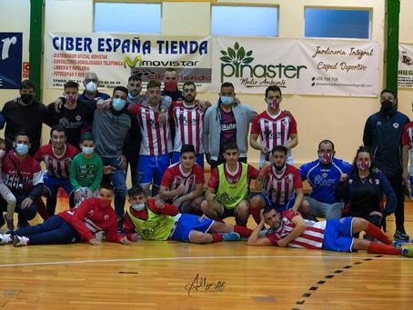 Galería fotográfica de la victoria por 5 goles a 3 frente a F.S. Alhambra de Guijuelo
