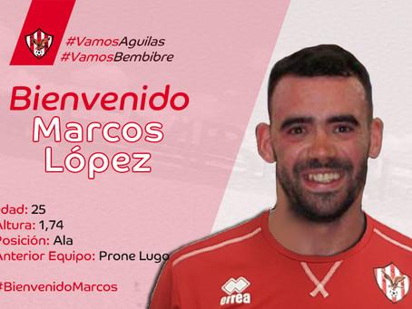 El Atlético Bembibre ficha a Marcos López
