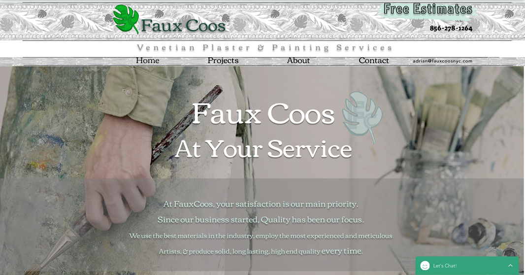 Fauxcoos Lading Page.png
