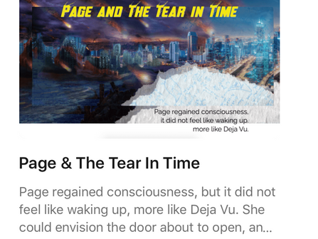 Page & The Tear In Time