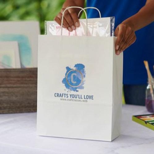 Custom Designed Paper Bags