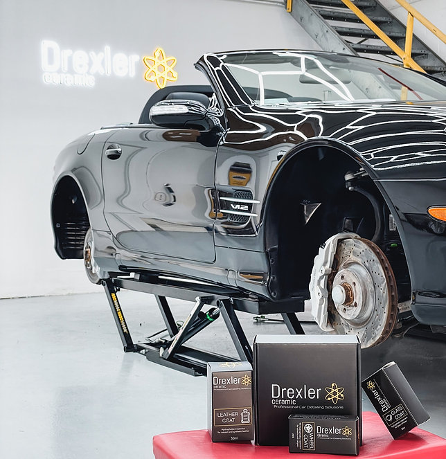 car ceramic coating miami luxury detailing