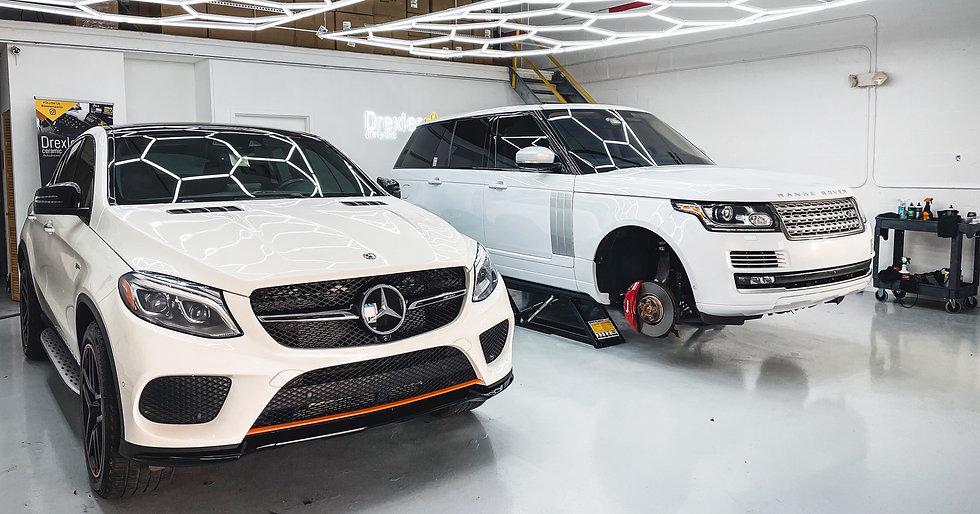 car detailing in Miami luxury car ceramic coating paint protection