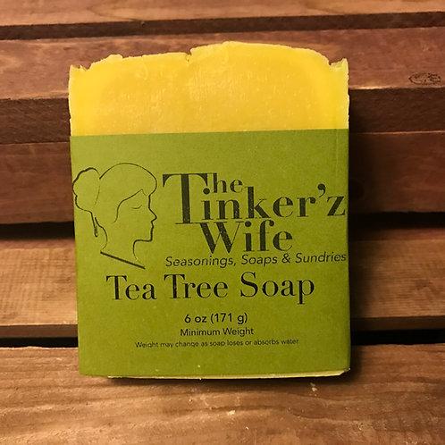 Premium Tea Tree Soap