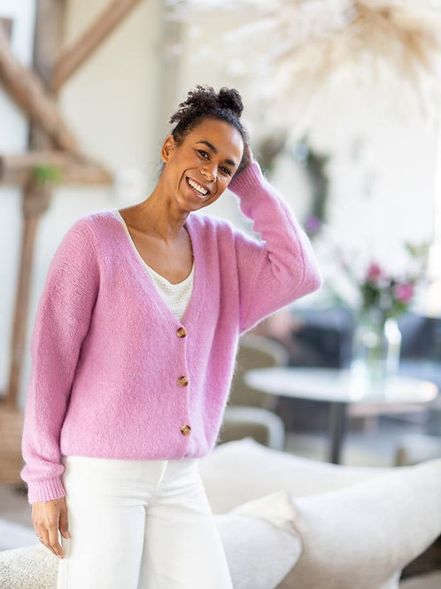 Knit KATE • Pink pepper