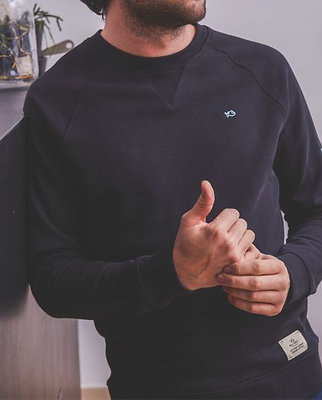 Sweater LE CASUAL • Antraciet