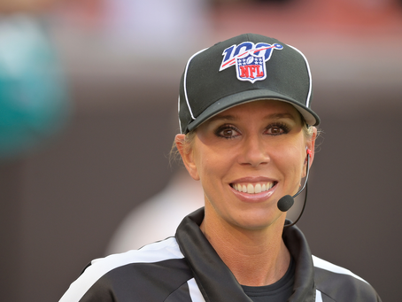 Sarah Thomas first woman  to officiate a Super Bowl.