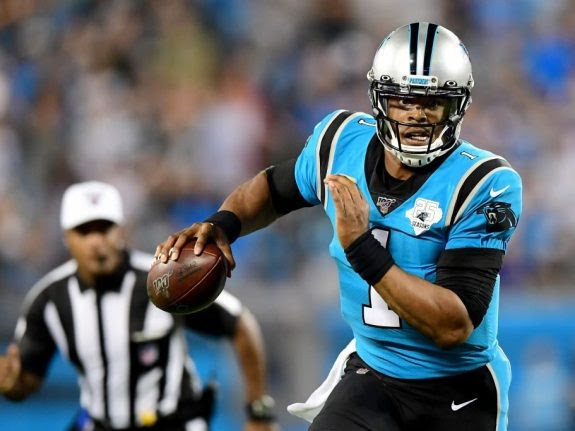 Cam Newton signs contract with the Patriots