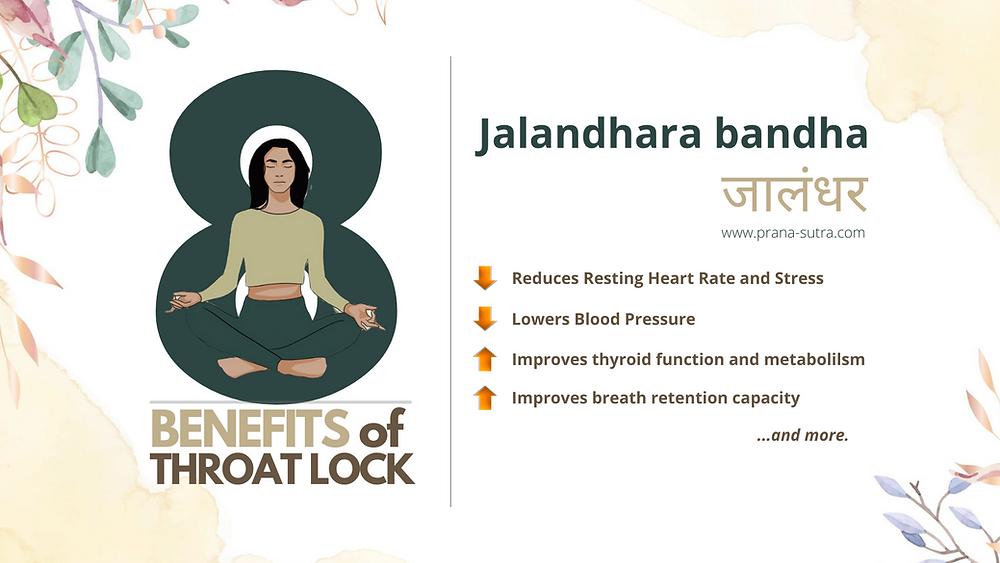 Eight science-backed benefits of jalandhara bandha (Throat lock)
