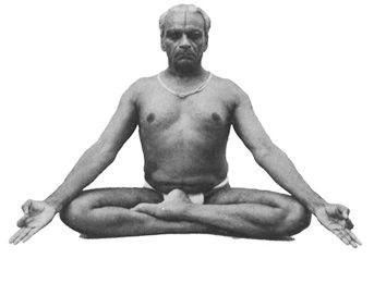 BKS Iyengar demonstrating Siddhasana - Perfect Pose