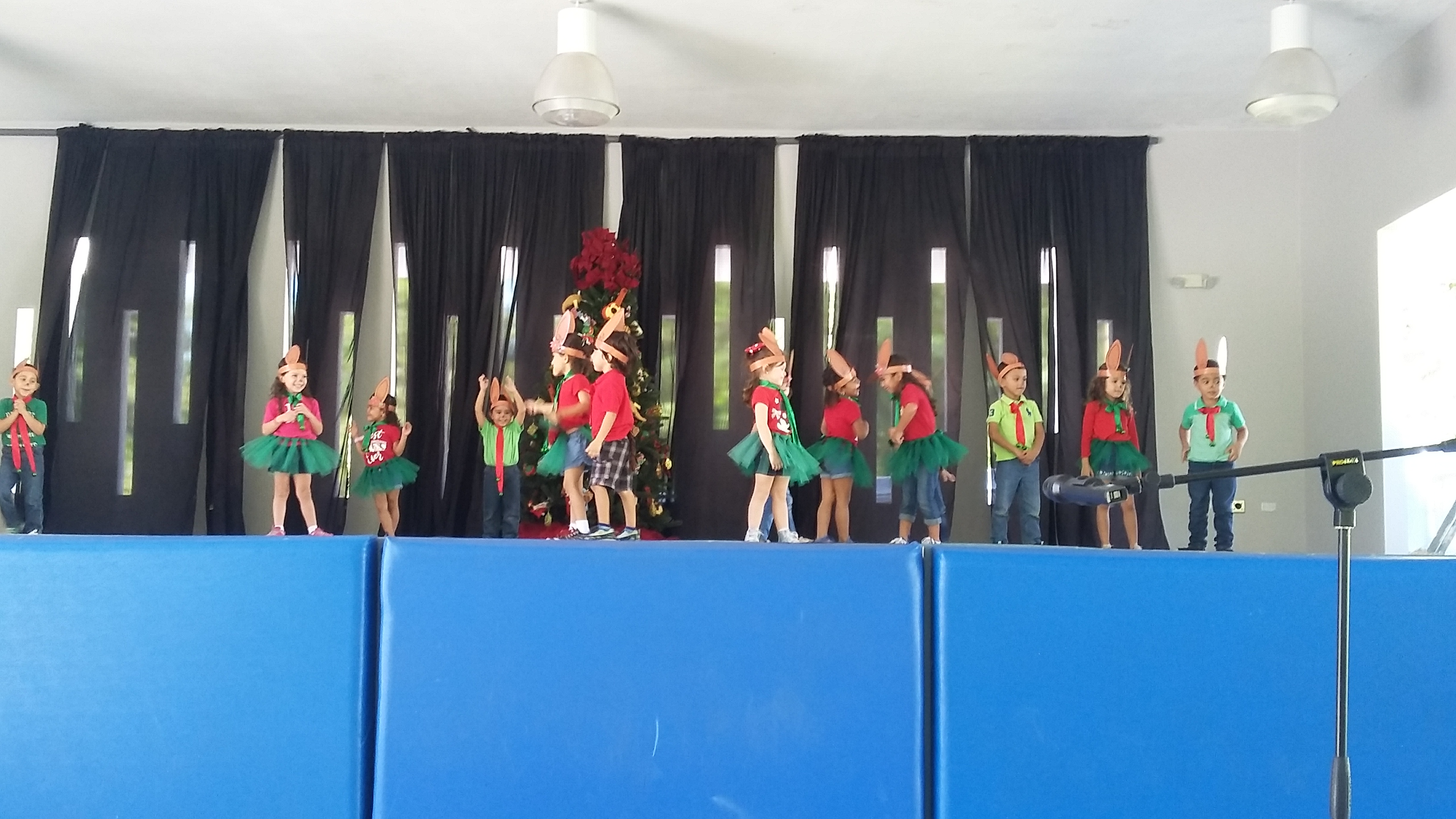 Pre Kinder celebra La Navidad