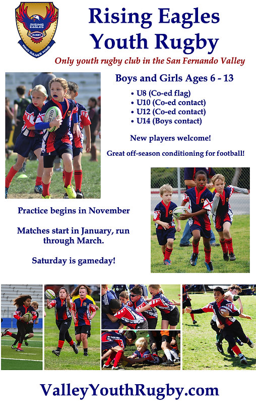 Rising Eagles Youth Rugby