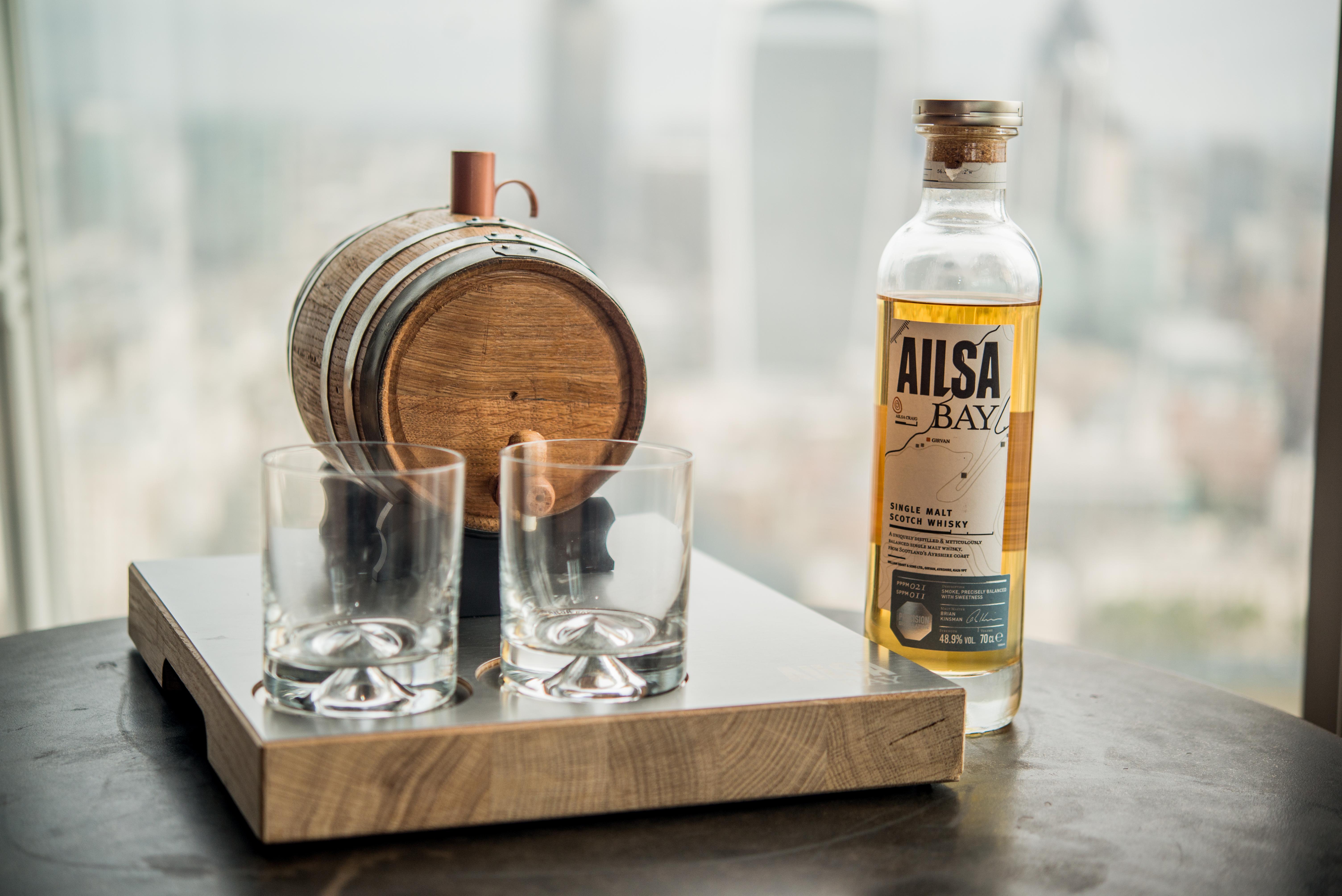 Ailsa Bay - Bespoke Drinks Serve