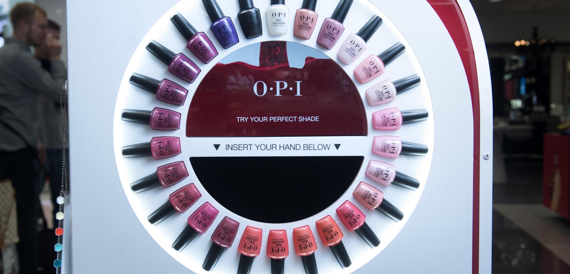 Play Retail Ltd | OPI Virtual Reality Nail Trial