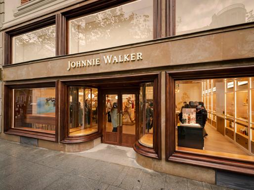 Johnnie Walker experiential whisky