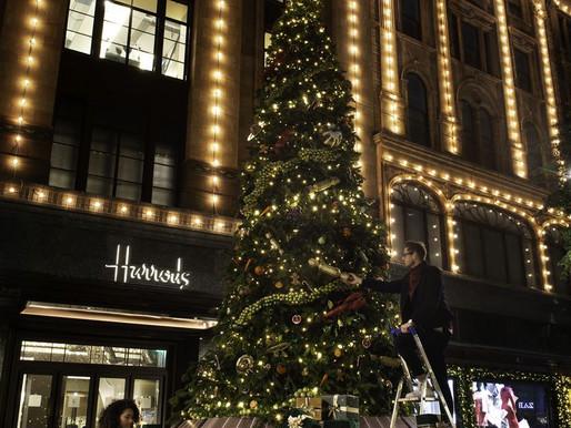 Christmas window installations: Harrods