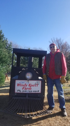 The Windy Knoll Express Train Engineer