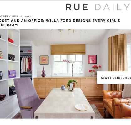 Rue magazine Willa Ford WFord Interiors