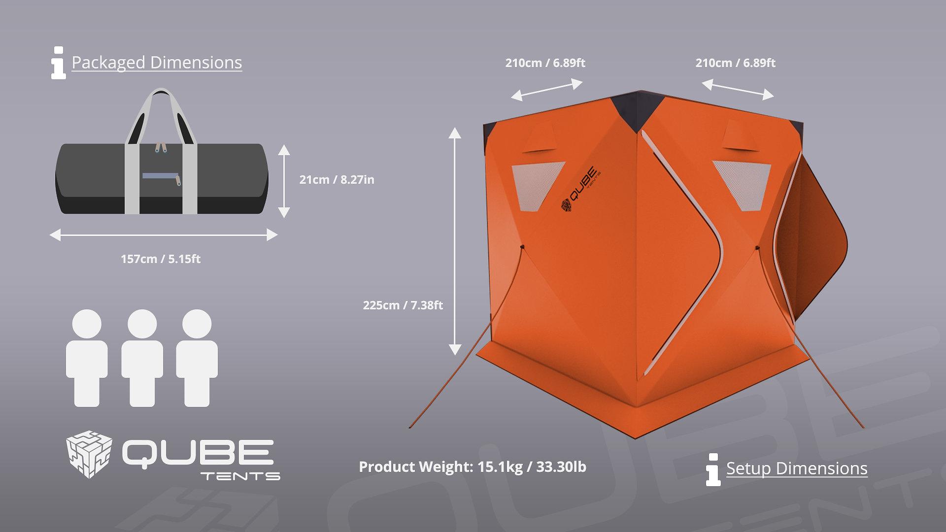 ic8llcyzpis7zlbiaieo, Qube tents, indiegogo, quick tents