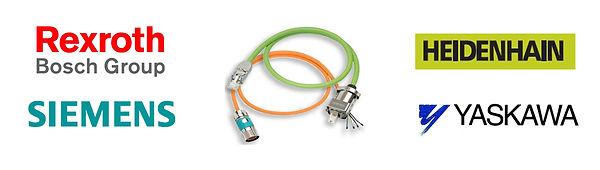 Bosch Rexroth,Siemens,Heidenhain,Yaskawa encoder and resolver cables