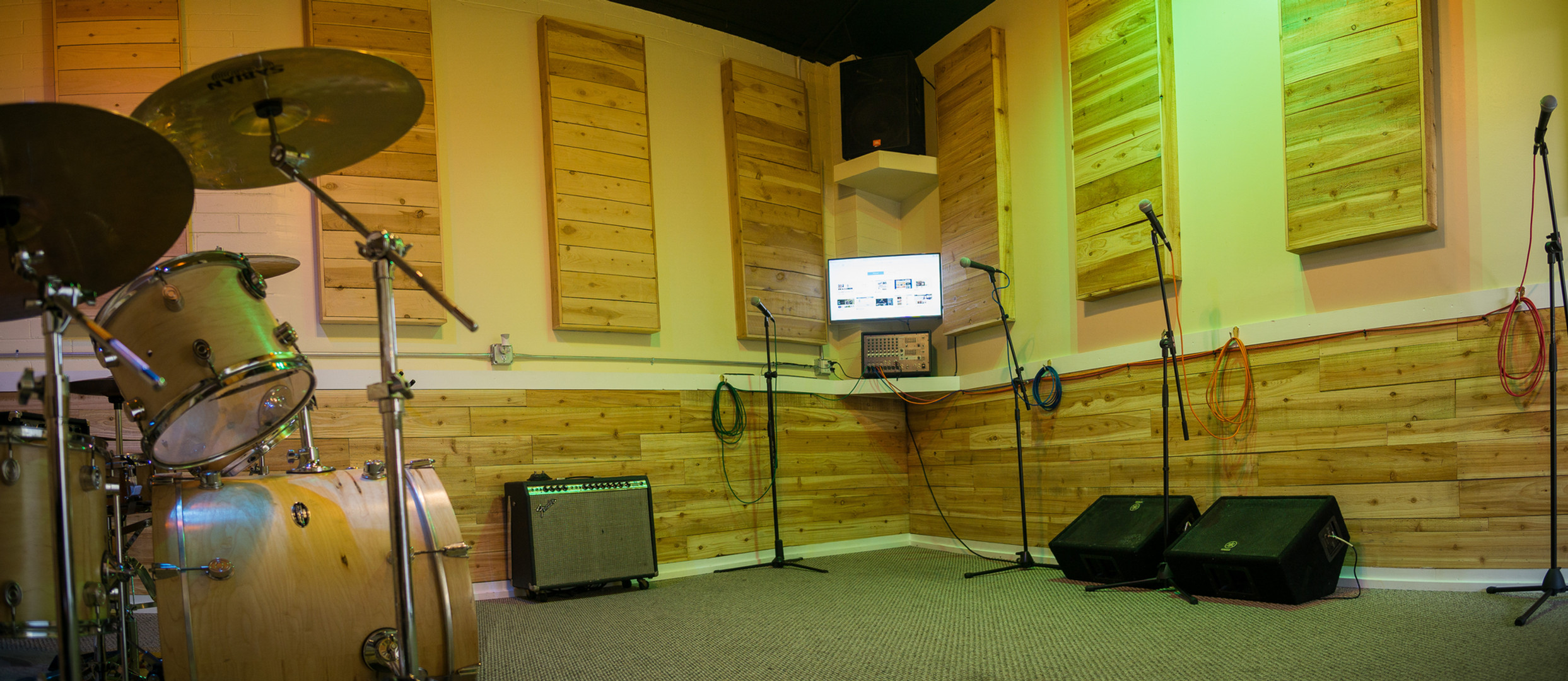 Log Cabin Vibes in Studio A