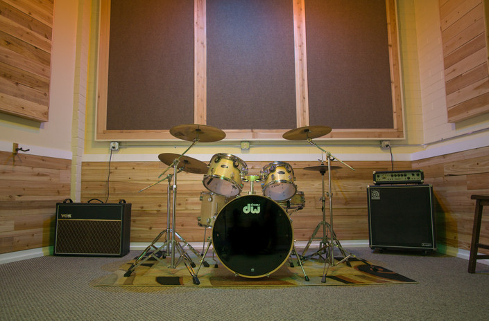 Light Wood Grain Pacific Drum Kit CX Series