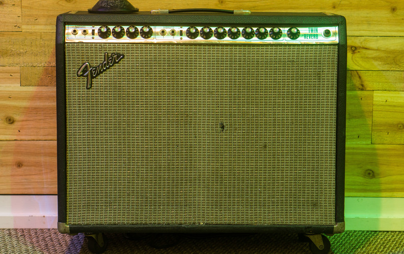 Guitar Amp 1: Fender Twin Reverb Combo