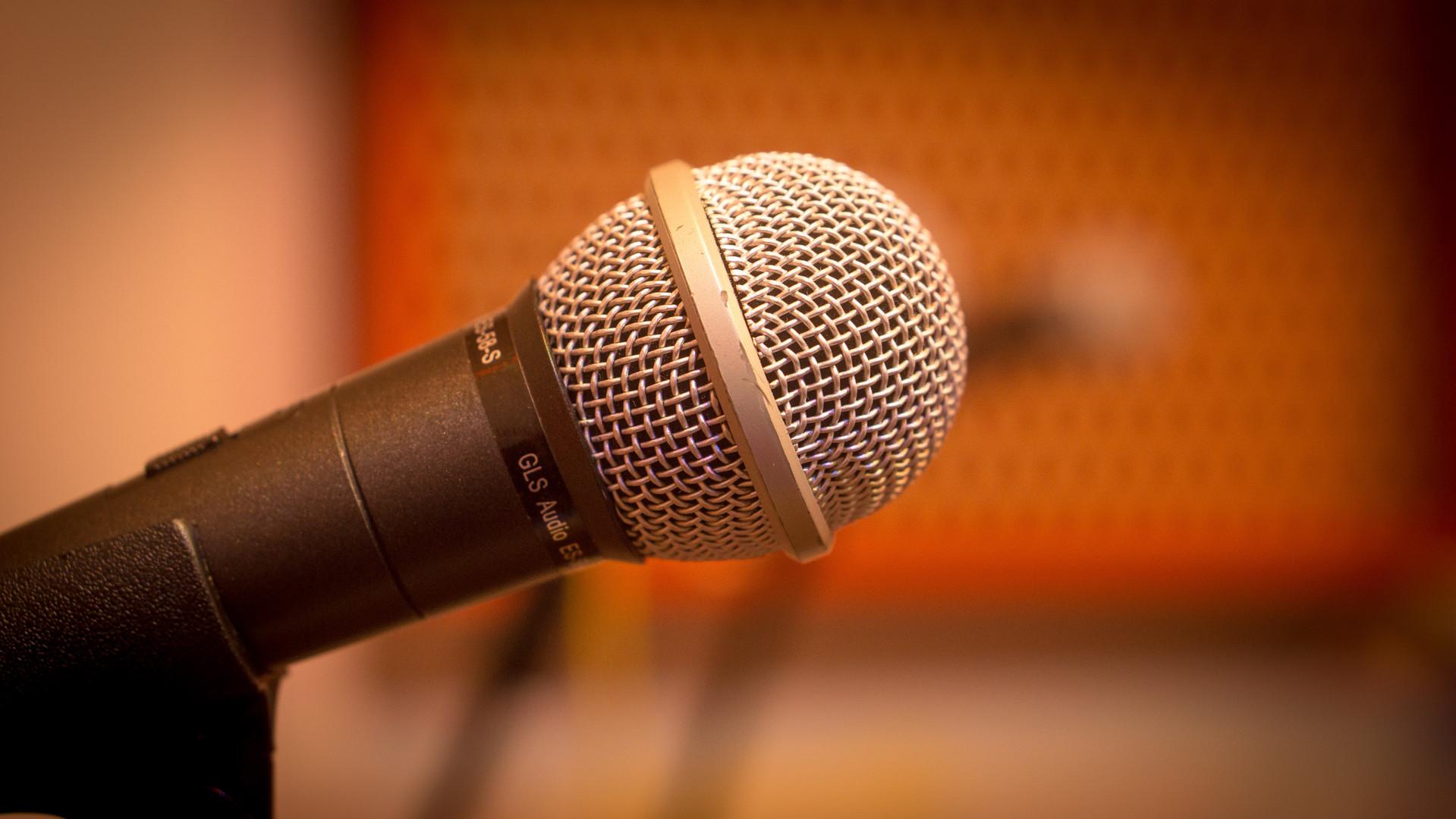 4 Microphones in Studio D